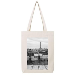 Tote-Bag – Toits de Paris N&B