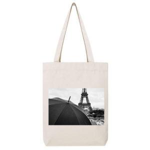Tote-Bag – La pluie à Paris